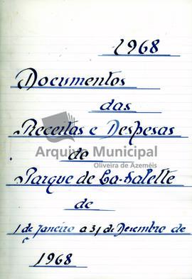Documentos 1968 - receita e despesa do parque