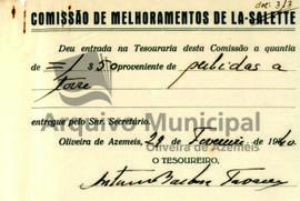 Documentos do Santuário - Ano de 1940